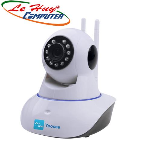 Camera Yoosee: Camera Xoay hồng ngoại IP 1.3Megapixels,2 anten.