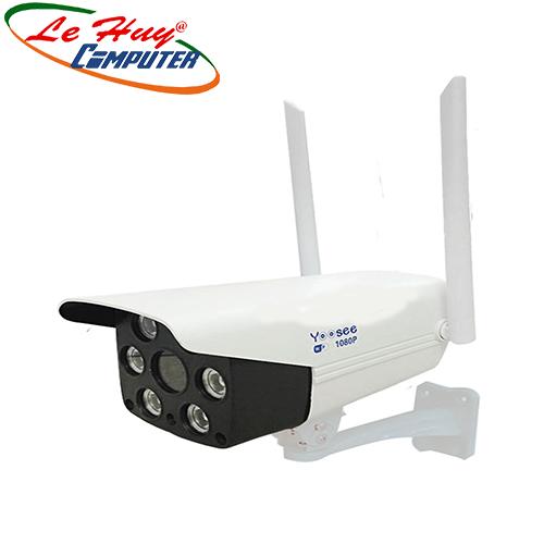 Camera Yoosee: thân sắt ngoài trời chống nước , 2 anten hồng ngoại IP 2.0MP