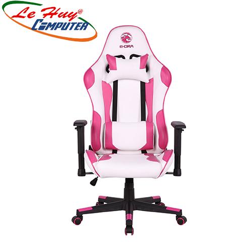 Ghế Gamer E-Dra Mars EGC202 White/Pink