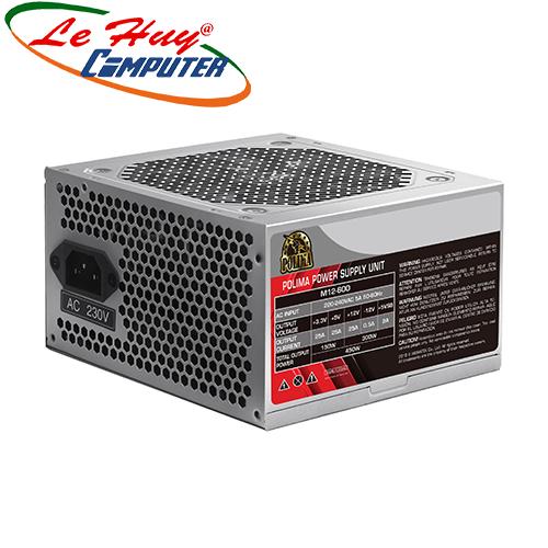 Nguồn máy tính XIGMATEK POLIMA M12-600 (EN42685)