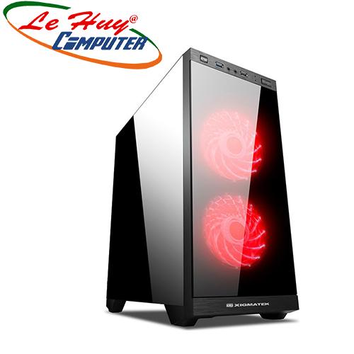 Vỏ máy tính XIGMATEK SCORPIO II 2F (EN43415)
