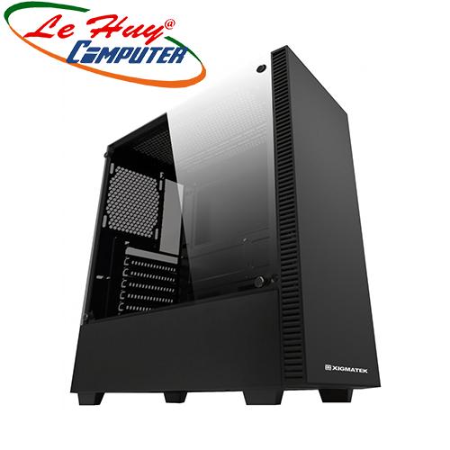 Vỏ máy tính XIGMATEK IRIS BLACK (EN42227)