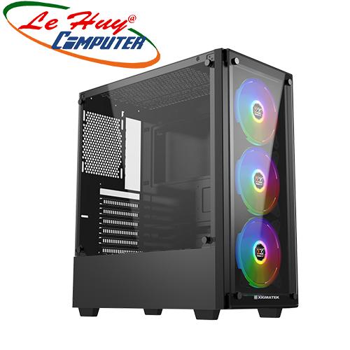 Vỏ máy tính XIGMATEK ARTEMIS BLACK (EN43088)