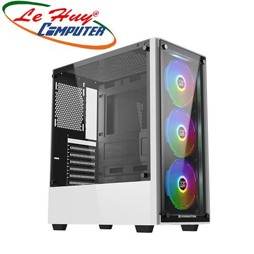 Vỏ máy tính XIGMATEK ARTEMIS WHITE (EN43101)