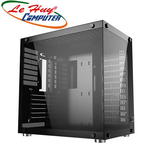 Vỏ máy tính XIGMATEK AQUARIUS PLUS - BLACK (EN43330)