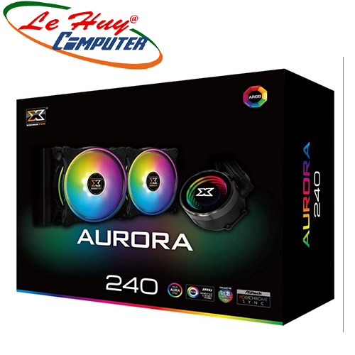 Fan Case XIGMATEK AURORA 240 (EN42807)