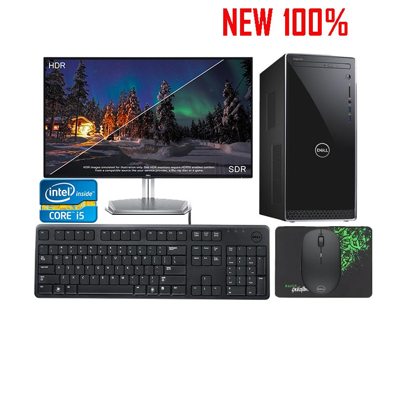 Máy tính để bàn/PC Dell Inspiron 3670 i5-9400/8GB/1TB HDD/GTX 1050 2GB/Ubuntu