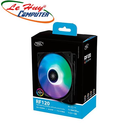 Tản nhiệt khí CPU DEEPCOOL RF 120 - FAN RGB