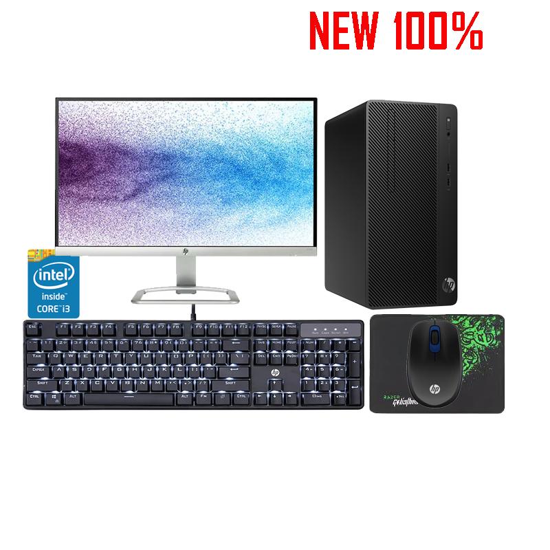 Máy tính để bàn/PC HP 280G4 PCI MT i3-9100/4GB/1TB HDD/Intel UHD Graphics/FreeDos