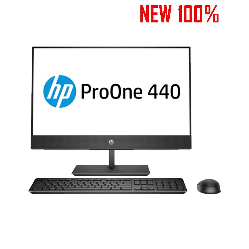 Máy tính để bàn/PC HP ProOne 400 G4 AIO i5-8500T/4GB/1TB HDD/Intel UHD Graphics/FreeDos/LCD 20