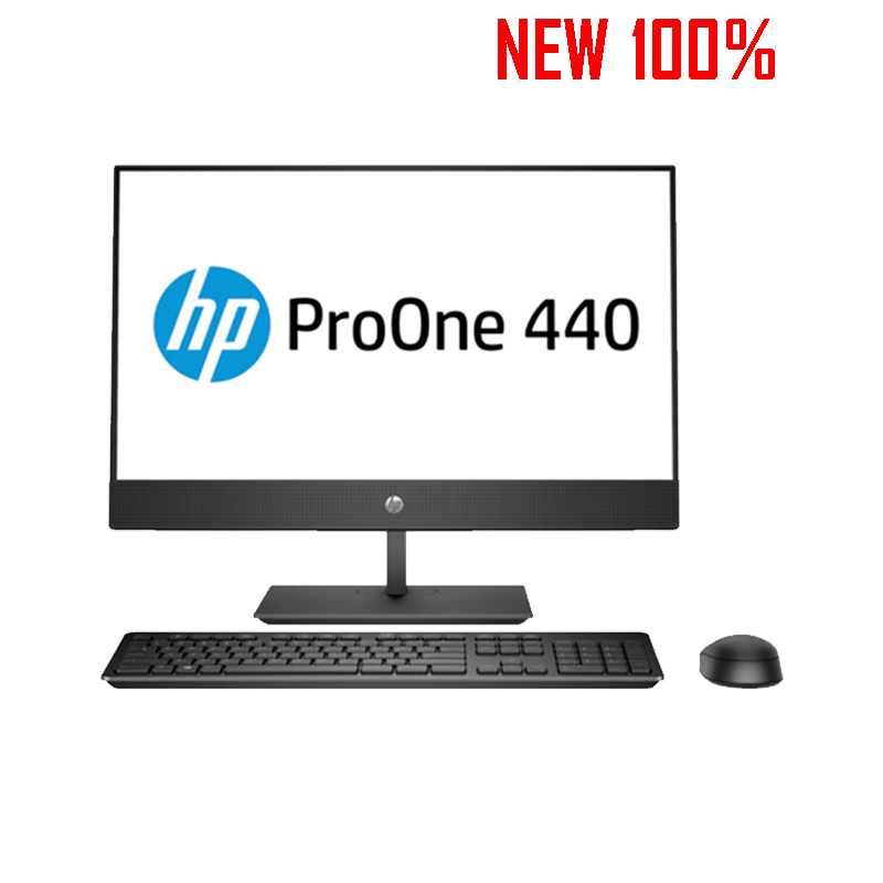 Máy tính để bàn/PC HP ProOne 400 G4 Non Touch AIO i5-8500T/4GB/1TB HDD/Intel UHD Graphics/FreeDos/LCD 23.8