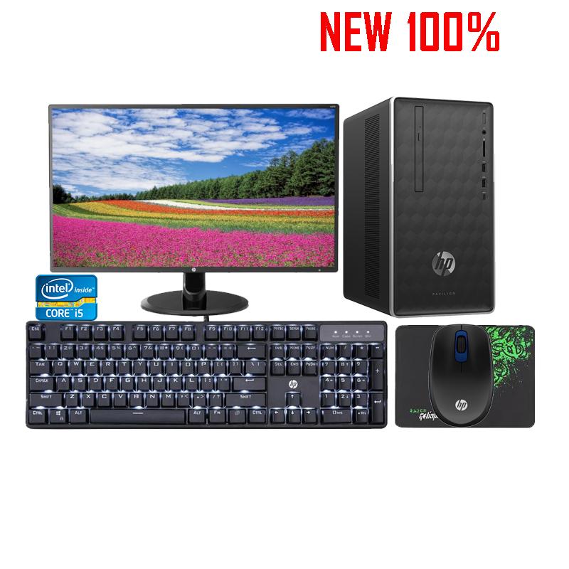 Máy tính để bàn/PC HP Pavilion 590-p0111d i5-9400/8GB/1TB HDD/Intel UHD Graphics/Win 10 Pro 64