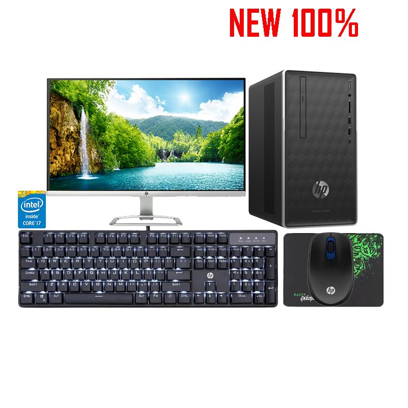Máy tính để bàn/PC HP Pavilion 590-p0079d i7-8700/8GB/1TB HDD/GT730 Graphics 2GB/Win 10 Home 64