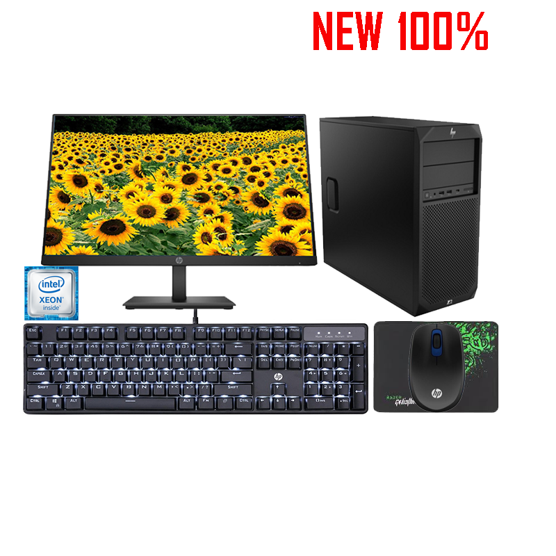 Máy trạm Workstation HP IDS Z2 TWR G4 WKS/Xeon E-2144G/8GB/1TB HDD/NVIDIA Quadro P620/Linux