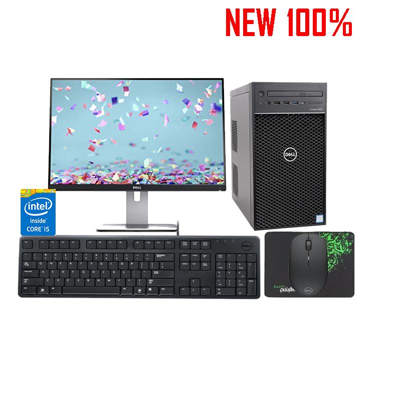 Máy trạm Workstation Dell Precision Tower 3630 CTO BASE - i5-8600/8GB/HDD 1TB/NVIDIA Quadro P620/Ubuntu Linux 16.04