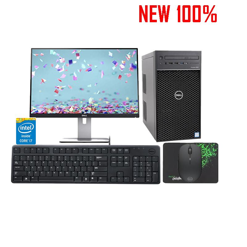 Máy trạm Workstation Dell Precision Tower 3630 CTO BASE - i7 8700K/8GB/1TB HDD/NVIDIA Quadro P620/Ubuntu Linux