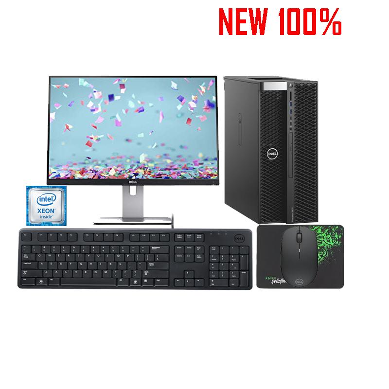 Máy trạm Workstation Dell Precision 7820 Tower XCTO/Xeon Silver 4112/16GB (2x8GB)/HDD 2TB/NVIDIA Quadro P5000/Windows 10 Pro for Workstations