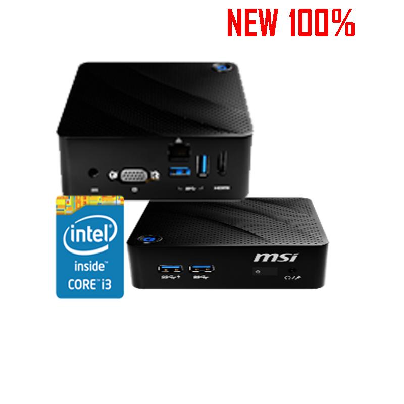 Máy Tính Bộ PC - MINI PC MSI Celeron N5000, Ram 4gb, SSd 120gb
