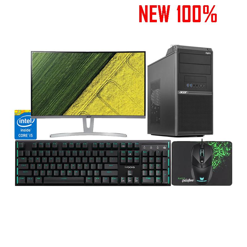 Máy Tính Để Bàn/PC Acer M230 Core i5-8400/4GB/1TB HDD/Intel UHD Graphics/Endless