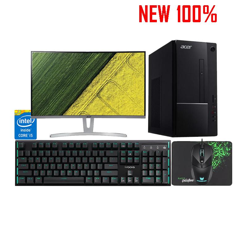 Máy Tính Để Bàn/PC Acer TC-865 Core i5-9400/4GB/1TB HDD/Intel UHD Graphics/Endless