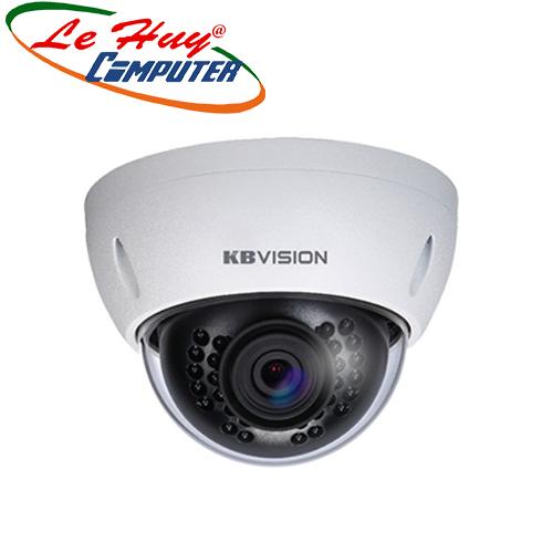 Camera IP Dome hồng ngoại 2.0 Megapixel KBVISION KX-2004MSN
