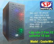 Vỏ máy tính SP CoolerMin(2fan coloful led)