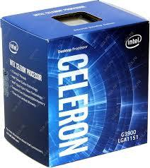 CPU Intel® Celeron G3900 Dual-core 2.80ghz (Skylake) box