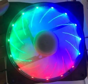 Fan Case COLORFUL 12cm LED 15 BÓNG