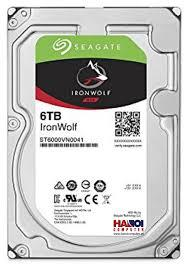 Ổ cứng NAS Iron Wolf 6TB Seagate ST6000VN0033