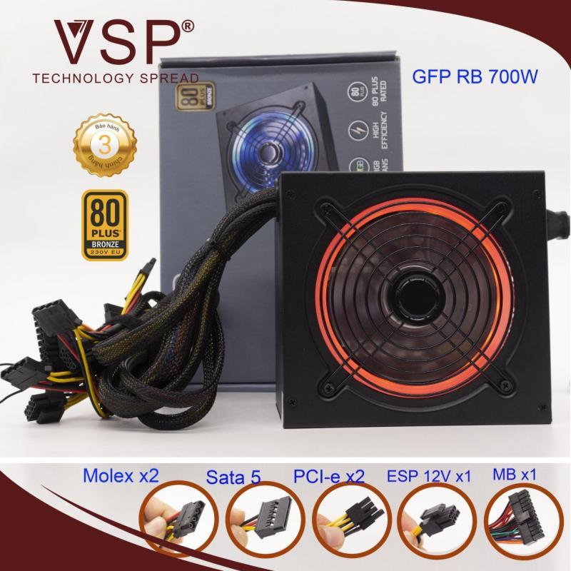 Nguồn máy tính VSP 700W RB700- LED RGB