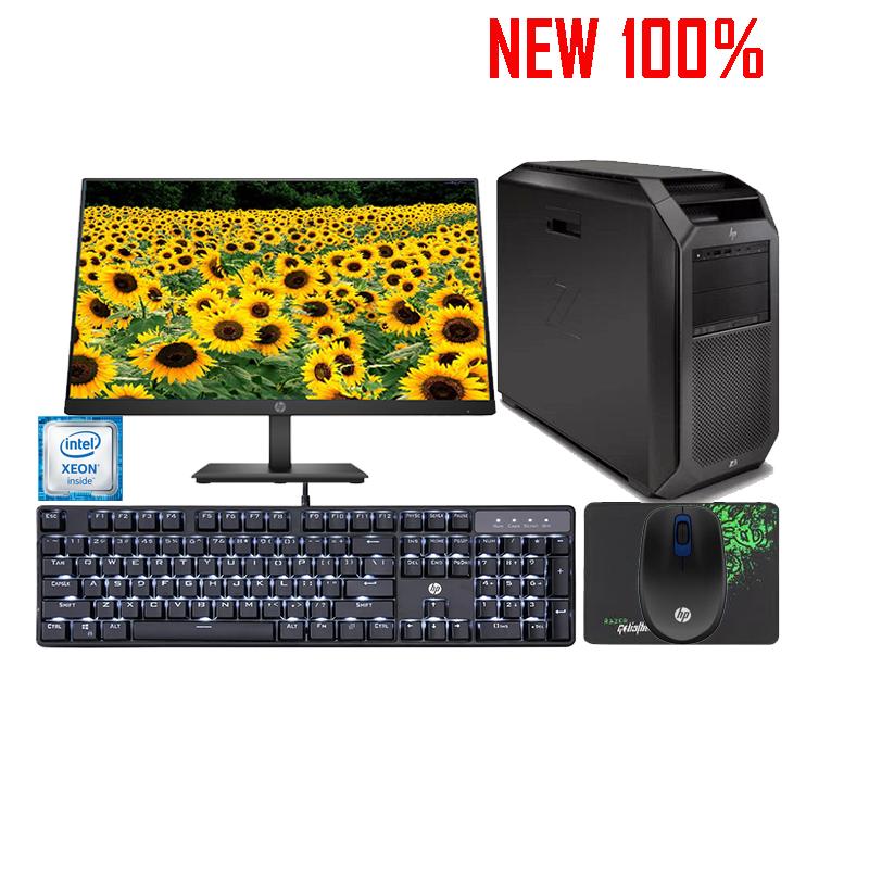 Máy tính để bàn HP Workstation Z2 Tower  Core i5-9500 4FU52AV/8GB/1TB HDD/Intel UHD Graphics/Linux