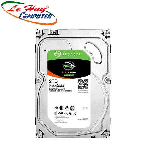 Ổ Cứng HDD Seagate FireCuda 2TB - ST2000DX002 - Hàng chính hãng