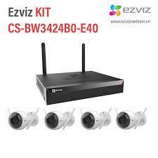Bộ Kit camera IP Wifi EZVIZ CS-BW3424B0-E40