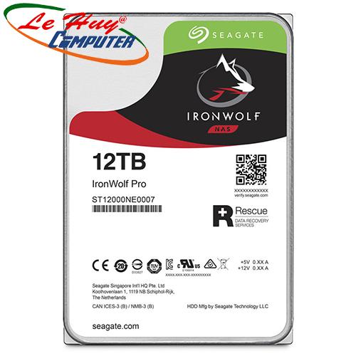 Ổ cứng HDD Seagate IronWolf Pro 12TB ST12000NE0007