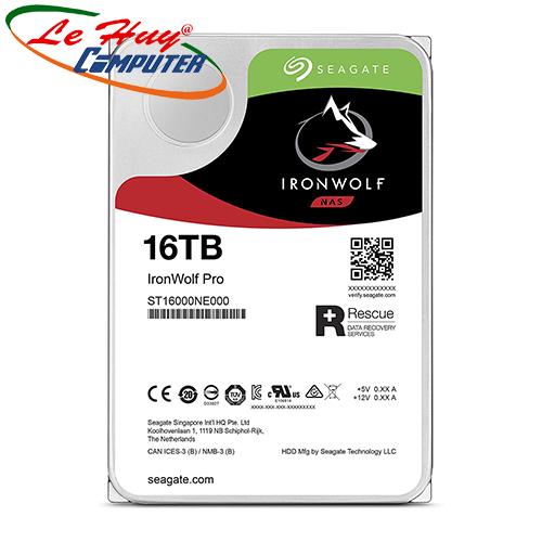 Ổ cứng HDD Seagate IronWolf Pro 16TB ST16000NE000