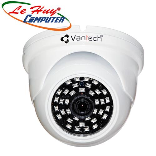 Camera HD-TVI 4K Dome hồng ngoại 8.0 Megapixel VANTECH VP-6004T