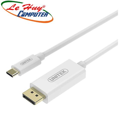 Cáp chuyển đổi Type-C -> DisplayPort Unitek (1,8m) V400AHW