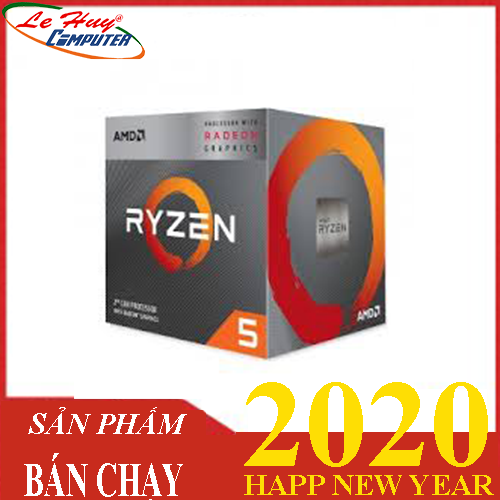 CPU AMD Ryzen 5 2400G 3.6 GHz (3.9 GHz with boost) / 6MB / 4 cores 8 threads / Radeon Vega 11 / socket AM4
