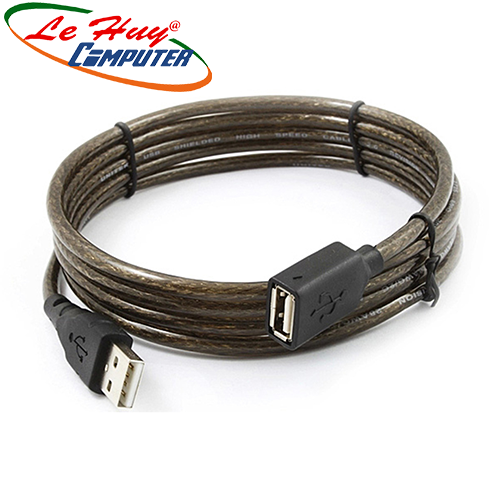 Cáp USB Nối Dài 2.0 (5m) Unitek (Y-C 418GBK)