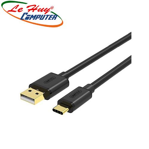 Cáp USB 2.0 -> Type-C Unitek  (Y-C 483BK)