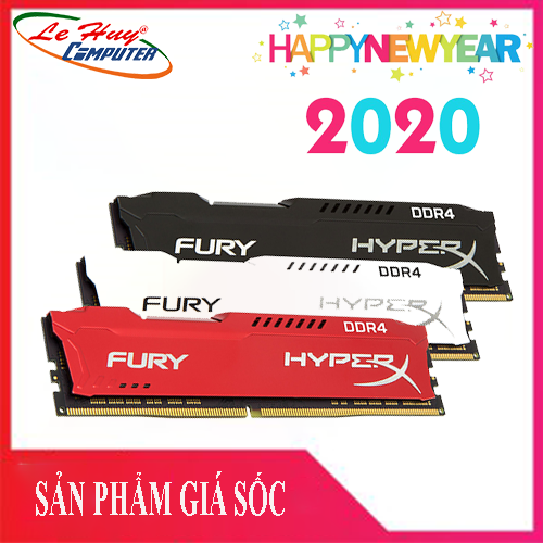 Ram Máy Tính Kingston DDR4 8GB (2666) Hyperx FURY Blue / Red / Black