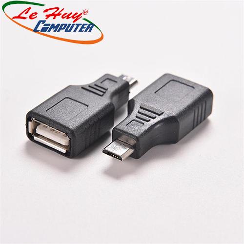 Đầu Đổi USB OTG 2.0 -> Micro USB (K) Unitek (Y-A 015)