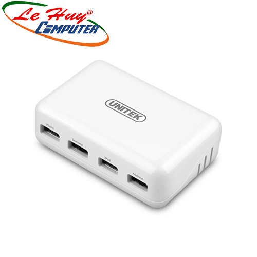 Sạc USB (4P) 2.0 UNITEK Y2166WH