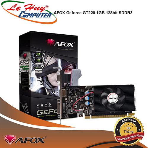 Card Màn Hình - VGA AFOX GT220 (1GB / 128bit / DDR3)
