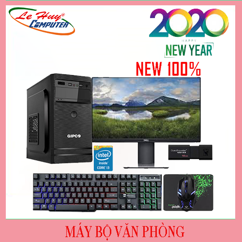 Máy Tính Văn Phòng LHC G5400/4GB/SSD 120GB/POWER Aerocool VX PLUS 350