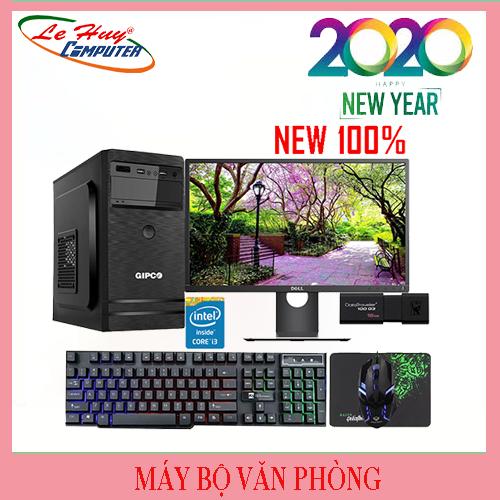 Máy Tính Văn Phòng LHC i3 9100F/8GB/SSD 120GB/GTX 1050 4GB/POWER VX PLUS 350W