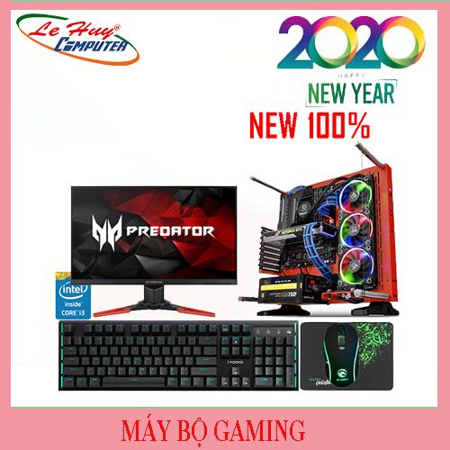 Máy Tính Cấu Hình Khủng Gaming - Design/Xeon E3 1220 V3/8GB/SSD 120GB/HDD 500GB/RX 570 4GB/POWER JETEK G500