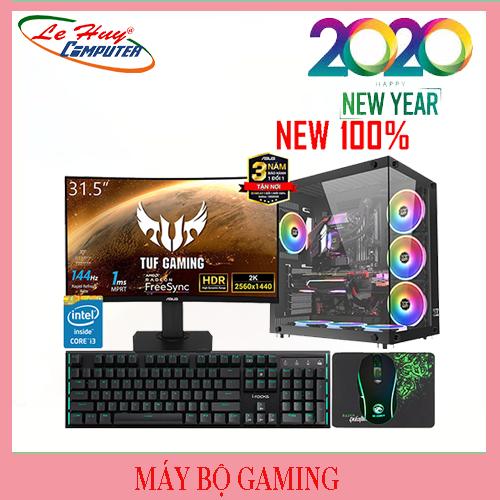 Máy tính chơi games PUBG Max Setting/i7-6700/16GB/SSD 120GB/HDD 1TB/GTX1660TI 6GB/POWER JETEK G550