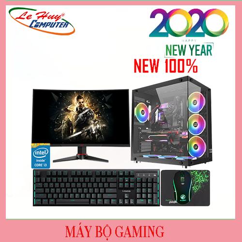 """Máy Tính Đồ Họa Gaming LHC –I7 9700K/32GB(16x2)/SSD 500GB/RTX N206S AORUS 8G/GIGABYTE G850W 80 Plus/SAMSUNG 32"""" 32F391"""