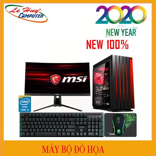 Máy Tính Bộ Đồ Họa LHC- i7 9700k/2x8G/HDD 1TB/SSD 240GB/VGA MSI RTX 2060 OC 6GB VENTUS/POWER CM MWE 700 V2 80 Plus WHITE